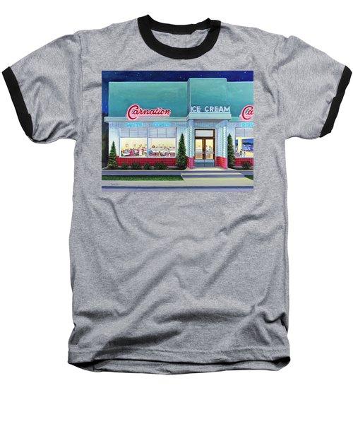 The Carnation Ice Cream Shop Baseball T-Shirt