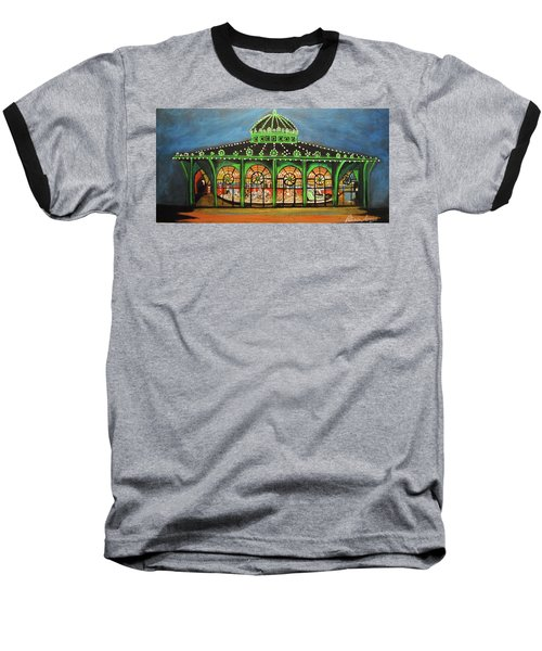 The Carousel Of Asbury Park Baseball T-Shirt