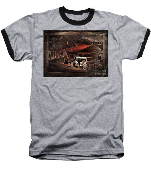 The Carriage Baseball T-Shirt by Bob Pardue