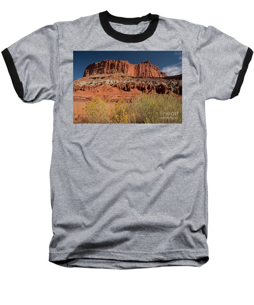 The Castle In Capital Reef Baseball T-Shirt