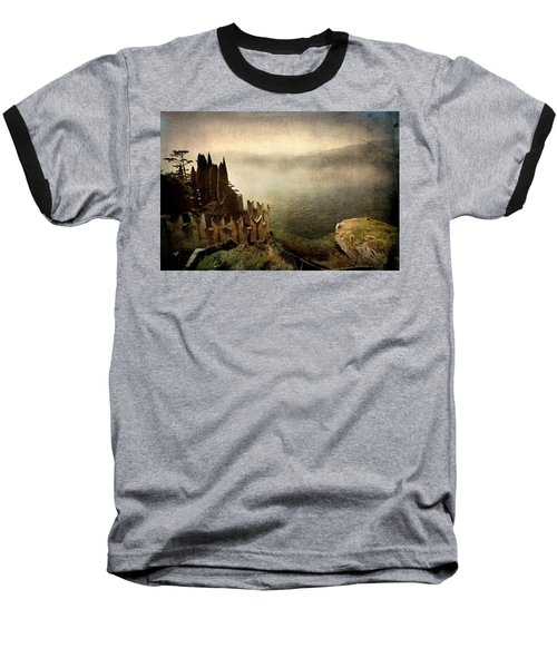 The Castle On The Lake. Malcesine Baseball T-Shirt