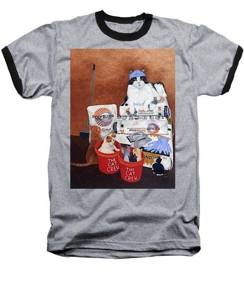 The Cat Crew Baseball T-Shirt