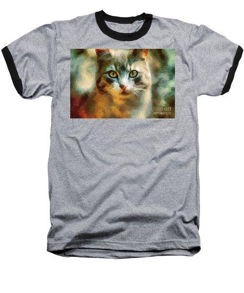 The Cat Eyes Baseball T-Shirt
