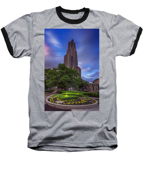 The Cathedral Of Learning Baseball T-Shirt