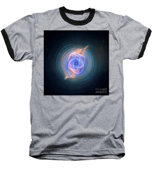 The Cat's Eye Nebula Baseball T-Shirt