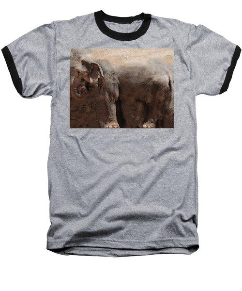 Baseball T-Shirt featuring the digital art The Cave by Robert Orinski