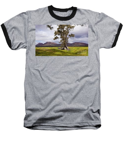The Cazneaux Tree Baseball T-Shirt by Bill Robinson