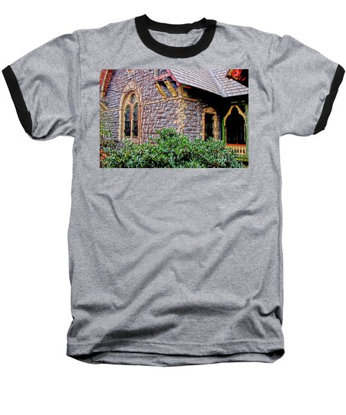 Baseball T-Shirt featuring the photograph Central Park Dairy Cottage by Sandy Moulder