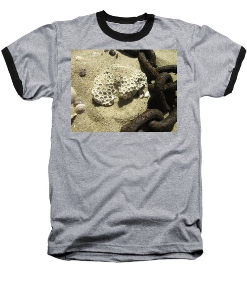 The Chain And The Fossil Baseball T-Shirt