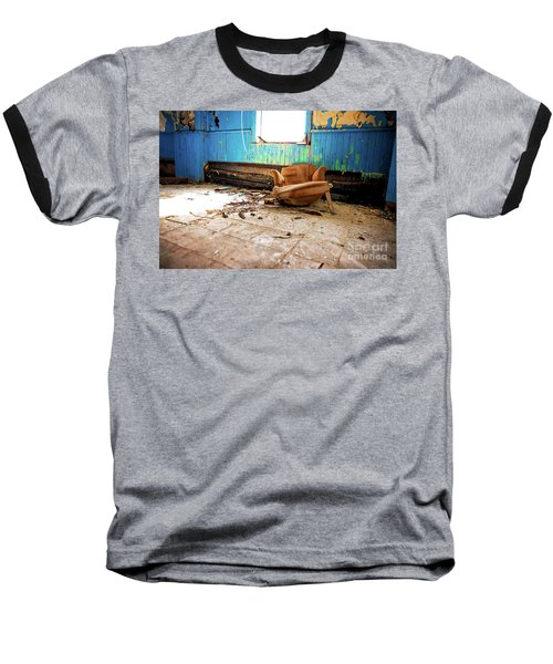 Baseball T-Shirt featuring the photograph The Chair by Randall Cogle