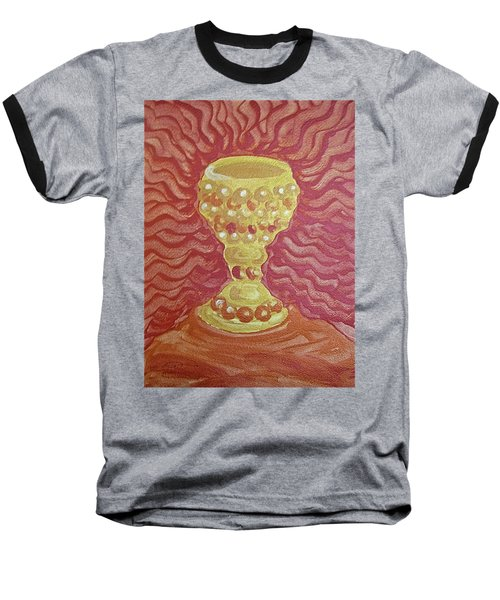 The Chalice Or Holy Grail Baseball T-Shirt