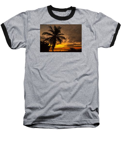 The Changing Light Baseball T-Shirt by Don Durfee