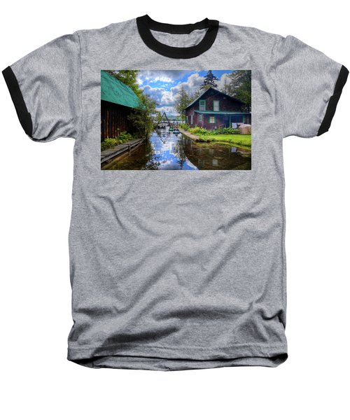 Baseball T-Shirt featuring the photograph The Channel At Palmer Point by David Patterson