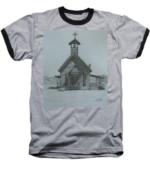 The Chapel  Baseball T-Shirt by Tony Clark