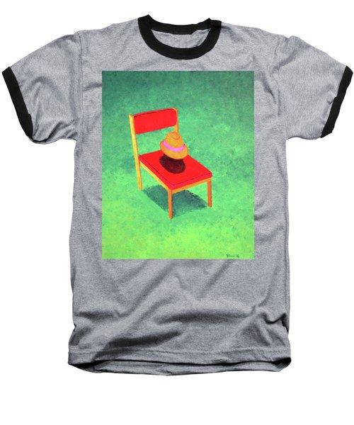 The Chat Baseball T-Shirt by Thomas Blood