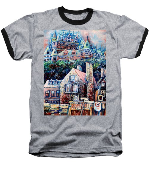 The Chateau Frontenac Baseball T-Shirt