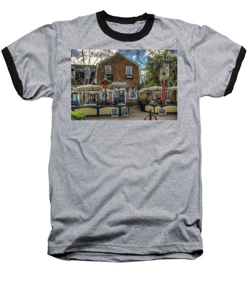 The Cheese Shop Baseball T-Shirt by Jerry Gammon
