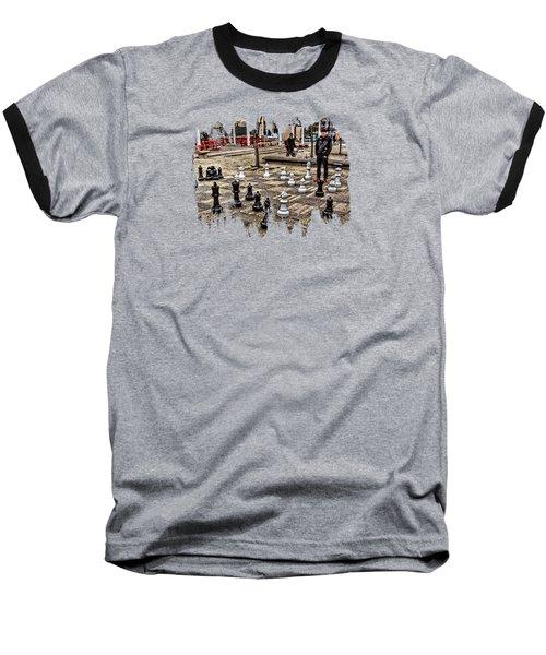 The Chess Match In Pdx Baseball T-Shirt by Thom Zehrfeld