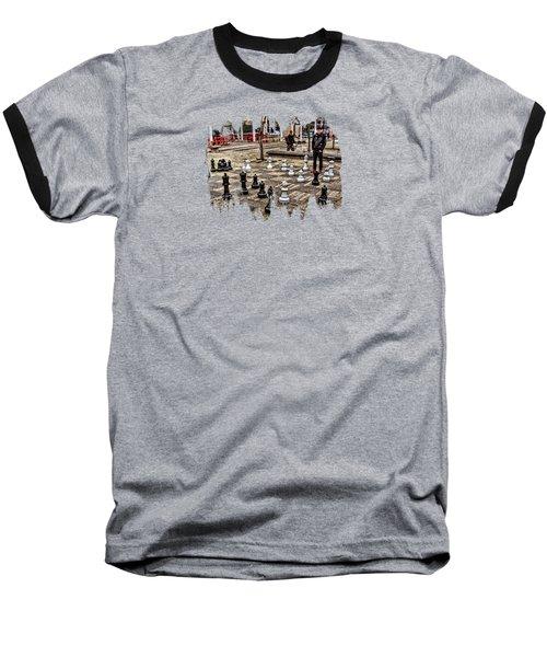 The Chess Match In Portland Baseball T-Shirt