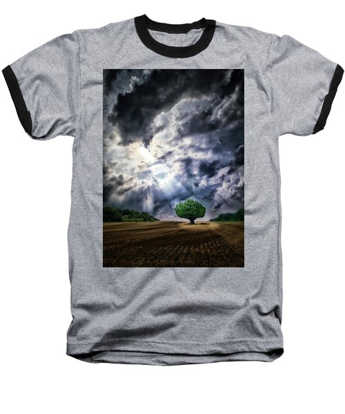 The Chosen Baseball T-Shirt by Mark Fuller