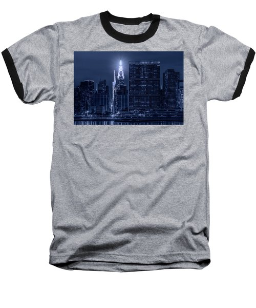Baseball T-Shirt featuring the photograph The Chrysler Star by Theodore Jones