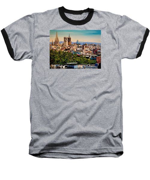 The Church's Of Barcelona Baseball T-Shirt