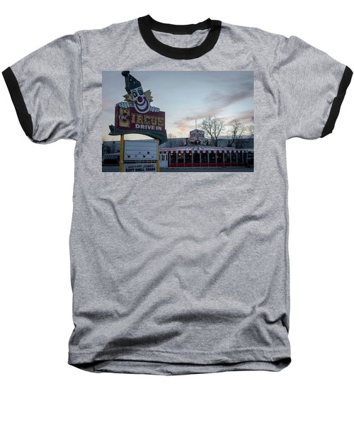 Baseball T-Shirt featuring the photograph The Circus Drive In Wall Township Nj by Terry DeLuco