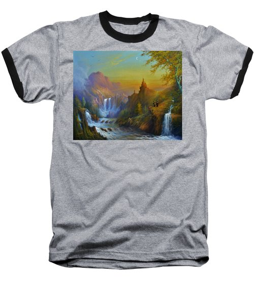 The Citadel Under The Moon Baseball T-Shirt
