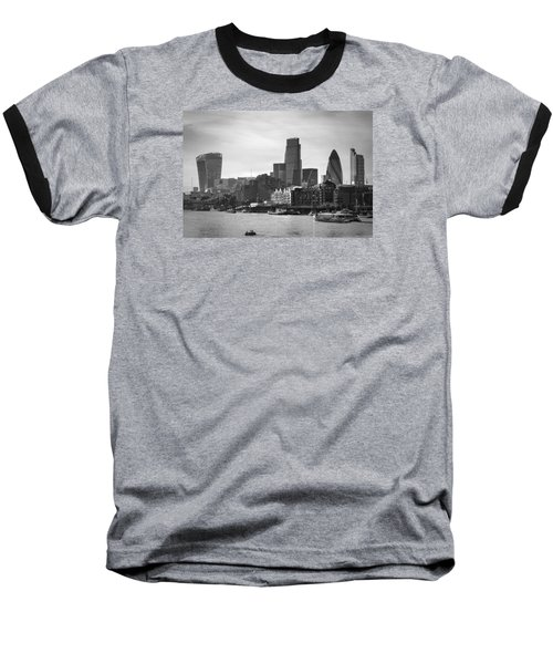 The City In Mono Baseball T-Shirt