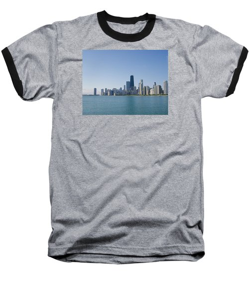 The City Of Chicago Across The Lake Baseball T-Shirt