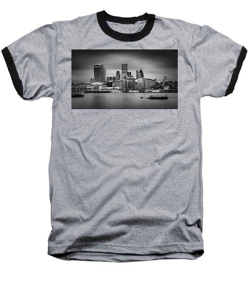 The City Of London Mono Baseball T-Shirt