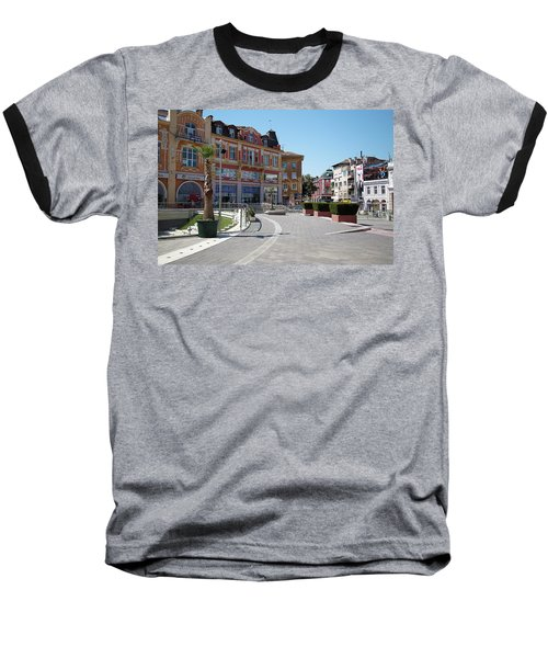 Baseball T-Shirt featuring the photograph The City Of Seven Hills by Milena Ilieva