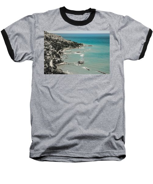 The City Of Waves Baseball T-Shirt