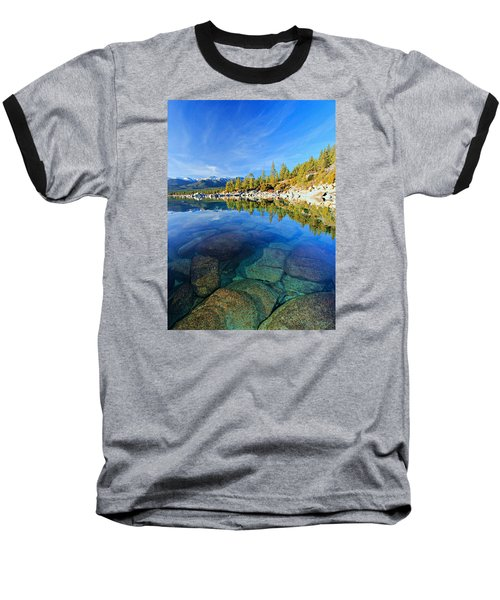 The Clarity Of Lake Tahoe Baseball T-Shirt
