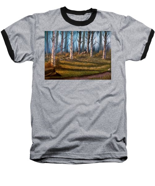 The Clearing Baseball T-Shirt by Sheri Keith