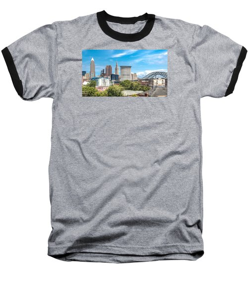 The Cleveland Skyline Baseball T-Shirt