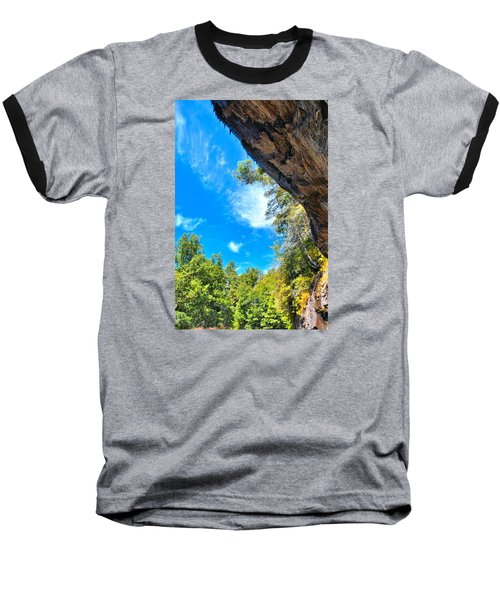 The Cliffs At Bridal Veil Falls Baseball T-Shirt