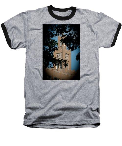 The Clock Tower Baseball T-Shirt