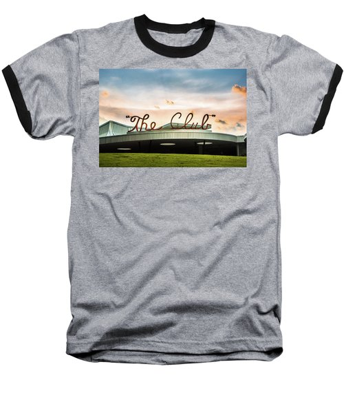 Baseball T-Shirt featuring the photograph The Club Birmingham by Parker Cunningham