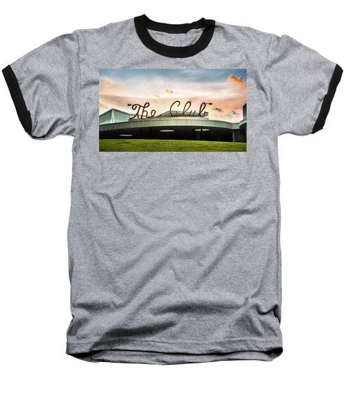 Baseball T-Shirt featuring the photograph The Club Panorama by Parker Cunningham