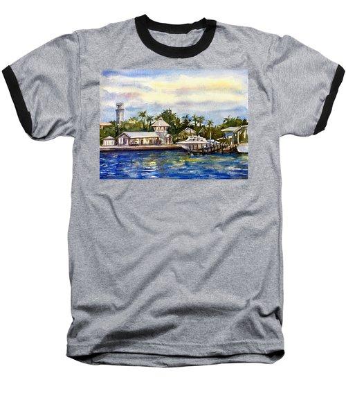The Coast Of Nassau Baseball T-Shirt