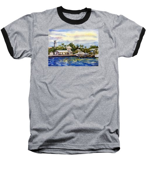 The Coast Of Nassau Baseball T-Shirt