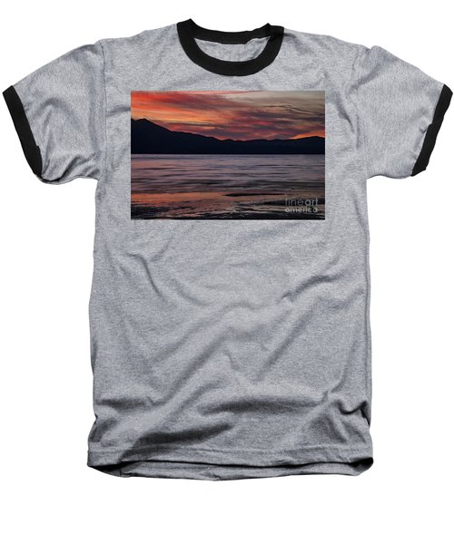 Baseball T-Shirt featuring the photograph The Color Of Dusk by Mitch Shindelbower