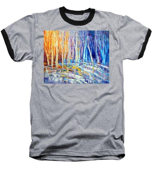 The Color Of Snow Baseball T-Shirt by Tatiana Iliina