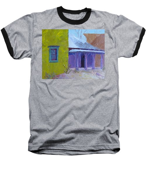 The Color Purple Baseball T-Shirt by Susan Woodward