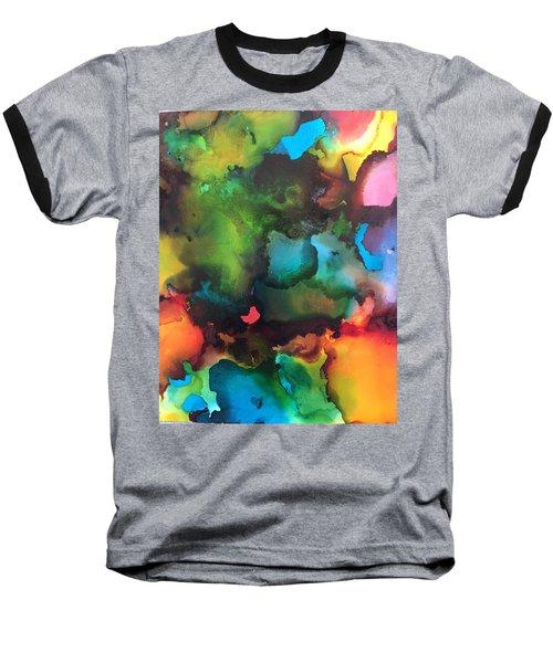 The Color Wheel Baseball T-Shirt