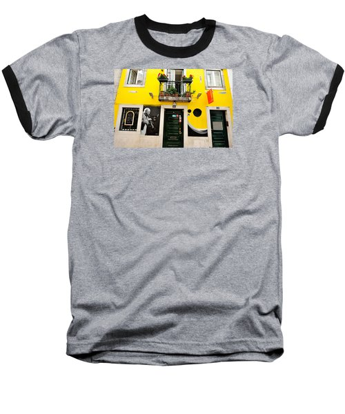 Baseball T-Shirt featuring the photograph The Colorful Bar by Marwan Khoury