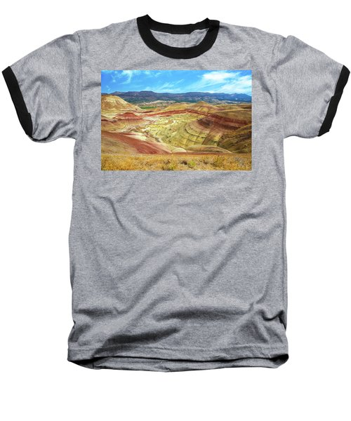 The Colorful Painted Hills In Eastern Oregon Baseball T-Shirt