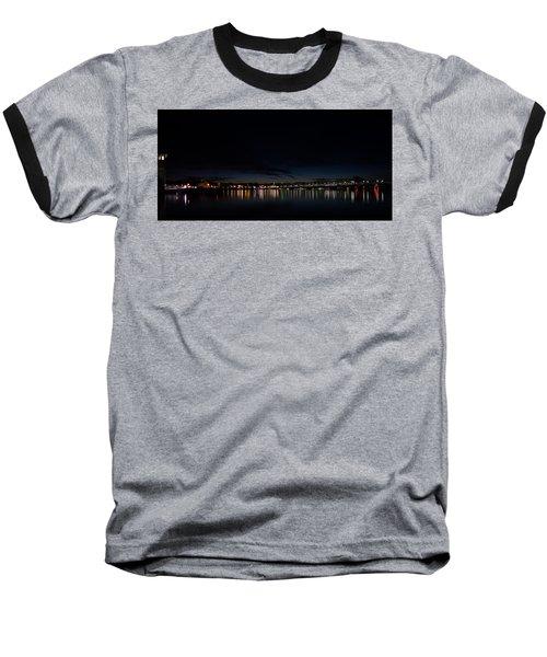 The Colors Of A Nightly Bridge Baseball T-Shirt