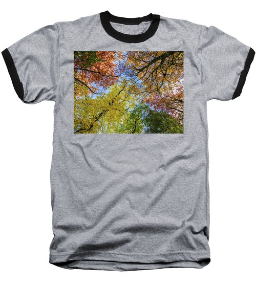 The Colors Of Autumn Baseball T-Shirt